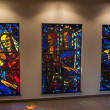 Stock Photo: Stained-glass Church Windows