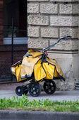 Postman Cart — Stock Photo