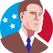 AmericPresidential Candidate Willard Mitt Romney — Stock Photo #10412252
