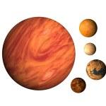 Planet Jupiter — Stock Photo