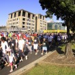 Royalty-Free Stock Photo: Auckland Round the Bays 8 km Fun Walk 2011