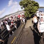Auckland Round the Bays Fun Run 2010 — Stock Photo