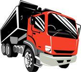 Camión volquete camión — Foto de Stock