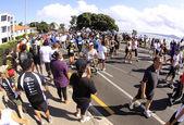 Auckland Round the Bays 8 km Fun Walk 2011 — Stock Photo