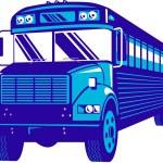 Vintage coach bus — Stock Photo #8910608