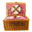 Picnic basket — Stock Photo #10058697
