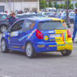 Stock Photo: rally race casale monferrato