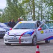 Rally Race Casale Monferrato — Stockfoto #10575947