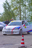 Rally Race Casale Monferrato — Стоковое фото