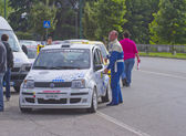 Rally Race Casale Monferrato — Stock fotografie