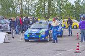 Rally Race Casale Monferrato — Stock Photo