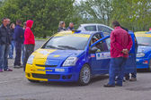 Rally Race Casale Monferrato — Stok fotoğraf