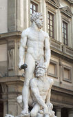 Hercules and Caco — Stock Photo