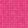 Pink Seamless Pattern with Circles - Stock Vector