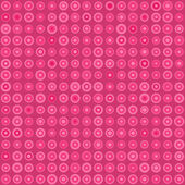 Pink Seamless Pattern with Circles — Stock Vector