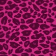 Pink Cheetah Print Seamless Pattern — Stock vektor