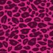 Tisk bezešvé pattern růžový gepard — Stock vektor