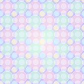 Seamless Light Pastel Pattern with Circles — Stock Vector