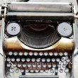 Stock Photo: Old antique typewriter