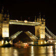 Tower Bridge London England — Stock Photo #8228567