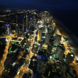 Nightlight of Gold Coast Australia — Stockfoto