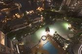 тропический бассейн — Стоковое фото