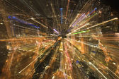 Blurry night — Stock Photo