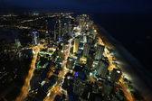 Nightlight of Gold Coast Australia — Stock Photo