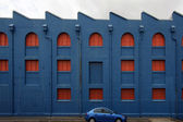 Blue Building — Stock Photo