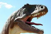 Dinosaur Head — Stock Photo