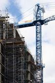 Crane & Constructions — Stock Photo