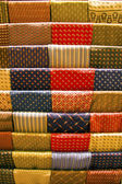 Silk Neckties — Stockfoto
