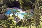 Piscina tropical — Foto Stock