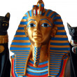 Miniature Egyptian Statues — Stock Photo