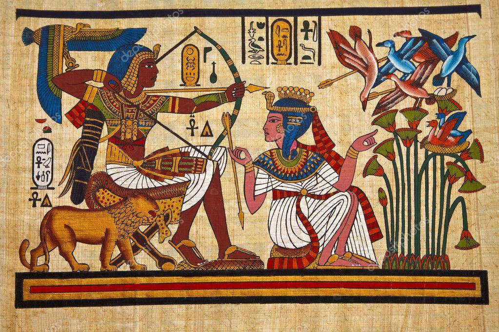 Что означают рисунки на египетских папирусах