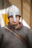 средневековый рыцарь — Стоковое фото