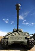 Army Desert Tank — Stok fotoğraf