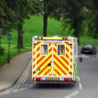 Emergency ambulance — Stock Photo
