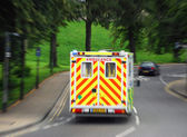 Emergency ambulance — Stock Photo