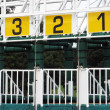 Stock Photo: Starting gate