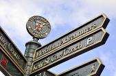 York turistický rozcestník — Stock fotografie