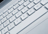 Laptop keyboard — Stock Photo