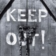 Keep out! — Stockfoto #8584691