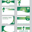 Royalty-Free Stock Vector Image: Environmental business cards