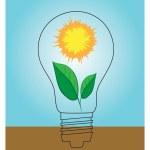 Green energy concept — Stock Vector