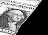 ドルのトラブル — ストック写真
