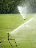 Two sprinklers — Stock Photo