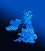 Technical Britain — Stock Photo