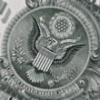 Stock Photo: USDollar bill closeup