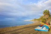 Marbella beach — Zdjęcie stockowe